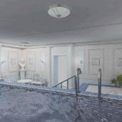 Римский бассейн / Коттеджи Интерьеры Ванные Бассейны