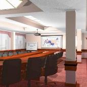 Конференц зал Галоген / Оффисы Конференц залы Интерьеры Деловые зоны