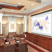 Конференц зал малый / Конференц залы Интерьеры Деловые зоны