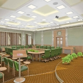 Конференц зал / Конференц залы Классика Интерьеры Деловые зоны