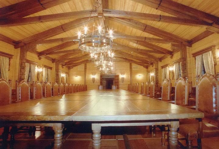 Зал совещаний / Конференц залы Кантри Камины Интерьеры Демидково Деловые зоны