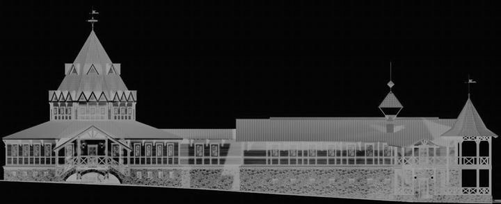 Фасад Дома Приемов / Фасады Рестораны Кантри Демидково Архитектура