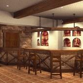 Кантри кафе / Рестораны Кафе Интерьеры Игровые зоны Бильярдные Бары