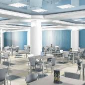 Заводская столовая / Столовые Рестораны Кафе Интерьеры