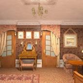 Спальня будуар / Французский стиль Спальни Коттеджи Классика Интерьеры