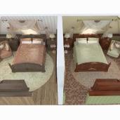 Спальни на чердаке / Спальни Коттеджи Кантри Интерьеры