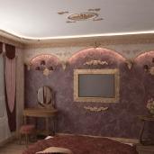 Романтическая спальня / Спальни Классика Квартиры Интерьеры