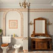 Классическая ванная / Классика Квартиры Ванные
