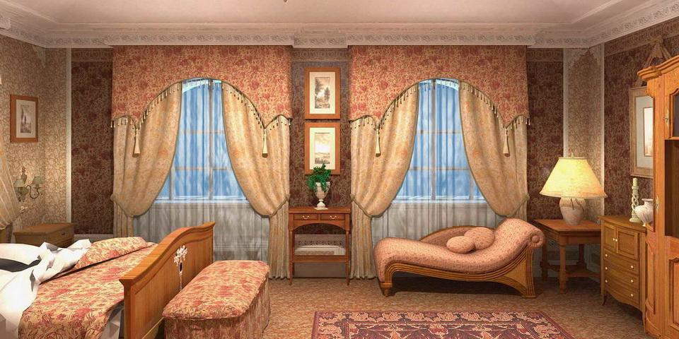 Спальня-будуар
